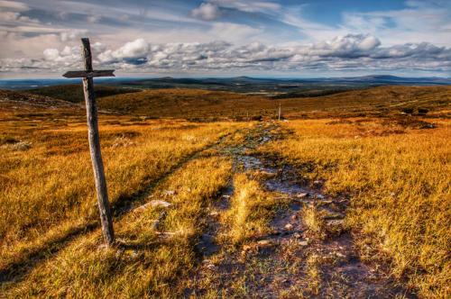 Finsko - cesta Laponskem