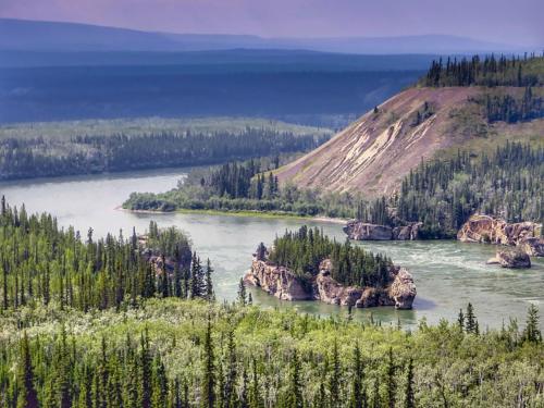 Kanada a Aljaška
