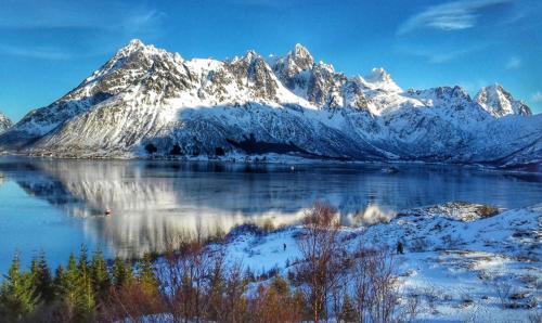 Zimní Norsko - cesta za polární září